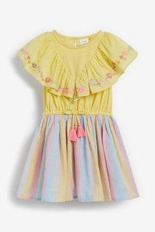 """Kleid """"Regenbogen"""" (3Monate bis 7Jahre)"""