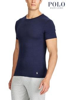 מארז שתי חולצות טי של Polo Ralph Lauren בצבע נייבי