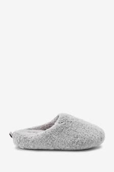 Forever Comfort Soft Fur Mule Slippers