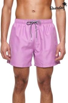 מכנסי שחייה קצרים באורך בינוני של Boardies דגם Mulberry