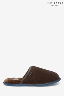 Pantuflas en marrón Parick de Ted Baker