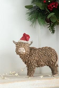 Hamish The Highland Cow Christmas Decoration (709003) | $20