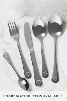 Heart 32pc Cutlery Set