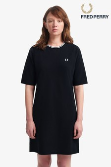 Fred Perry Twin Tipped Pique Dress