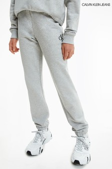 Calvin Klein Jeans Grey Relaxed Sweatpants