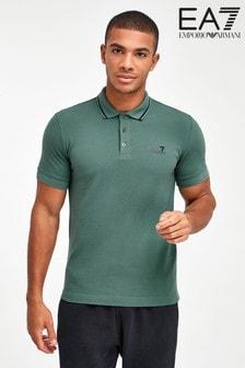 Emporio Armani EA7 Green Polo Shirt