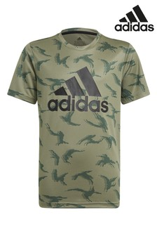 adidas Performance Camo T-Shirt, Khaki