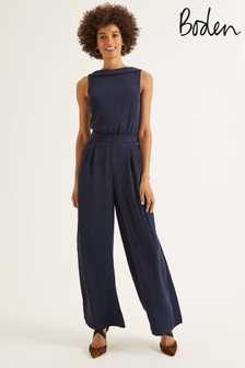Boden Blue Clarissa Jumpsuit