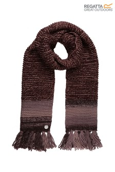 Regatta Purple Frosty IV Fringed Scarf