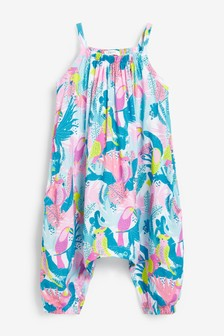 Floral Tropical Playsuit