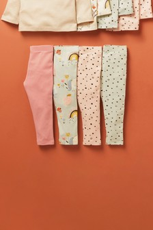 4 Pack Leggings (3mths-7yrs)