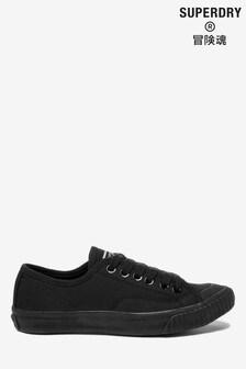 נעלי ספורט שחורות שלSuperdry דגם Low Pro