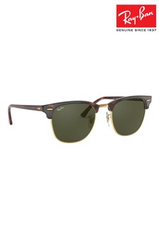 Ray-Ban® Clubmaster zonnebril met schildpadeffect