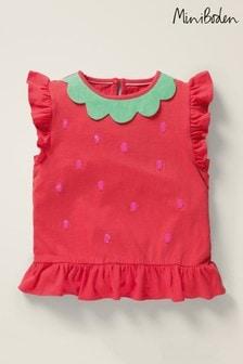Boden Red Flutter T-Shirt