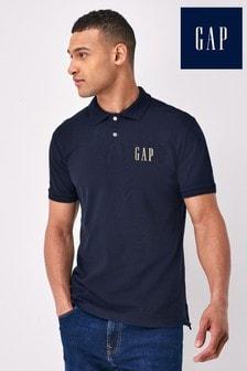 Gap Small Logo Pique Polo Shirt