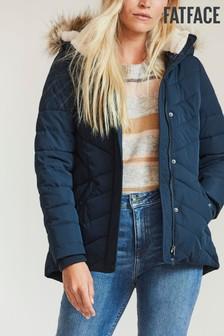 FatFace Blue Laura Padded Jacket