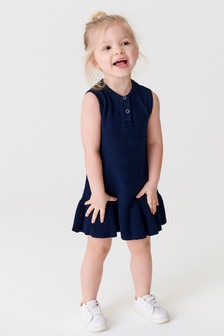 Sleeveless Knitted Dress (3mths-7yrs)