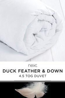 """שמיכת פוך <bdo dir=""""ltr"""">4.5 Tog</bdo> במילוי נוצות ופלומת ברווז"""