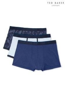 Ted Baker Blue Kata Trunks Three Pack