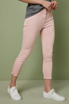 Укороченные джинсы скинни
