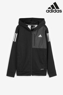 adidas Black Full Zip Hoody