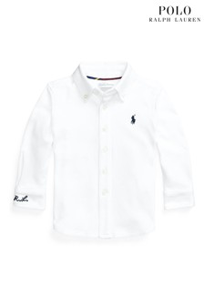 Ralph Lauren White Logo Shirt