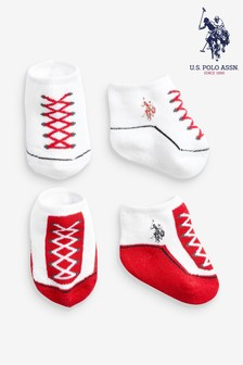 U.S. Polo Assn. Bootie Set