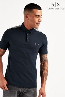 Armani Exchange海軍藍Polo衫