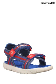 Timberland® Blue Perkins Row Webbing Sandals