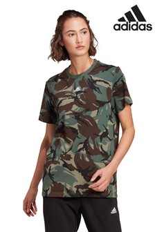 adidas Essentials Camo T-Shirt, Khaki
