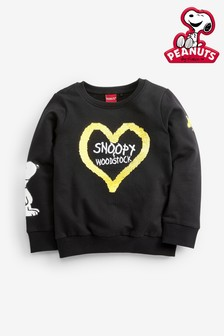 Regular Fit Snoopy Sequin Sweater (3-16yrs)