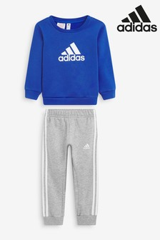 adidas Infant Crew Neck Top and Joggers Set
