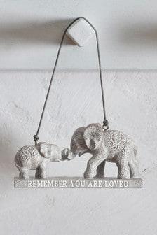 Elephant Family Hanging Decoration