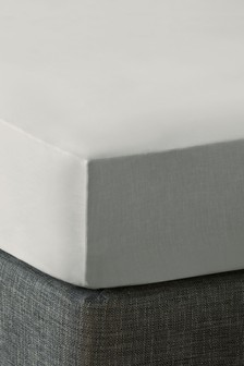 Polycotton Fitted Deep Fitted Sheet