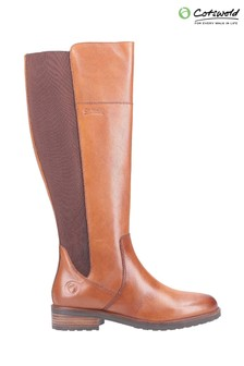 Cotswold Tan Montpellier Long Boots