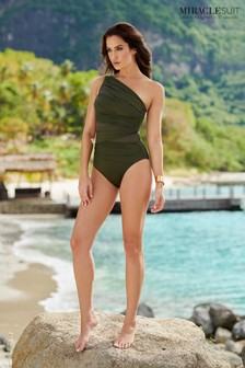 Miraclesuit® Jena One Shoulder Swimsuit