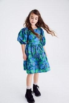 Kleid mit Zierausschnitt (3-16yrs)
