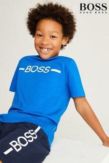 BOSS Blue Logo T-Shirt