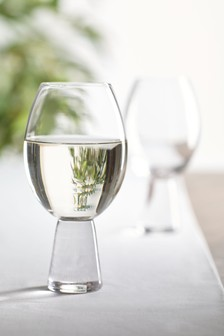 Súprava 2 pohárov na víno Aubrie