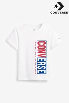 Converse スプリット ボーイズ ボックス Tシャツ