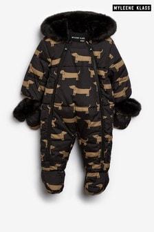 Myleene Klass Baby Faux-Fur Snowsuit