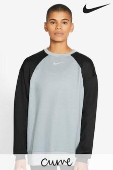Nike Curve Sweatshirt mit Rundhalsausschnitt