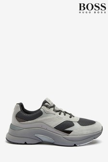 BOSS Grey Ardica Trainers