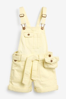 Belted Dungarees (3-16yrs)