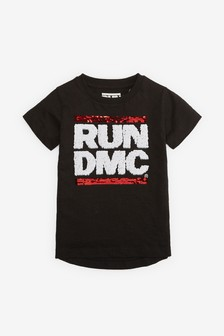 Run DMC Flippy Sequin T-Shirt (9mths-8yrs)