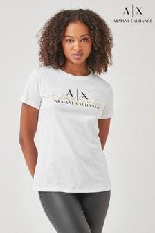 Armani Exchange White Icon T-Shirt