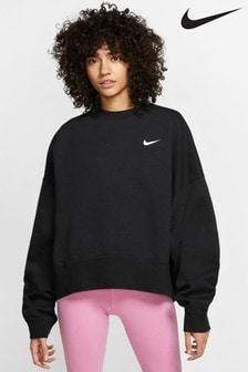 Nike Sportswear Essentials Fleecepullover mit Rundhalsausschnitt