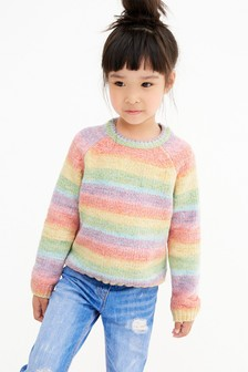 雪尼爾套頭衫 (3-16歲)