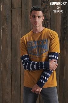 Superdry現代風工作裝T恤