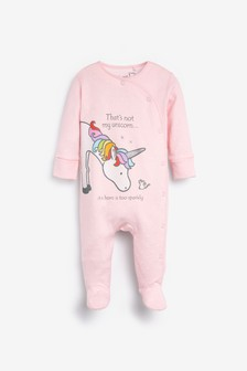 Thats Not My Unicorn Sleepsuit (0-12mths)